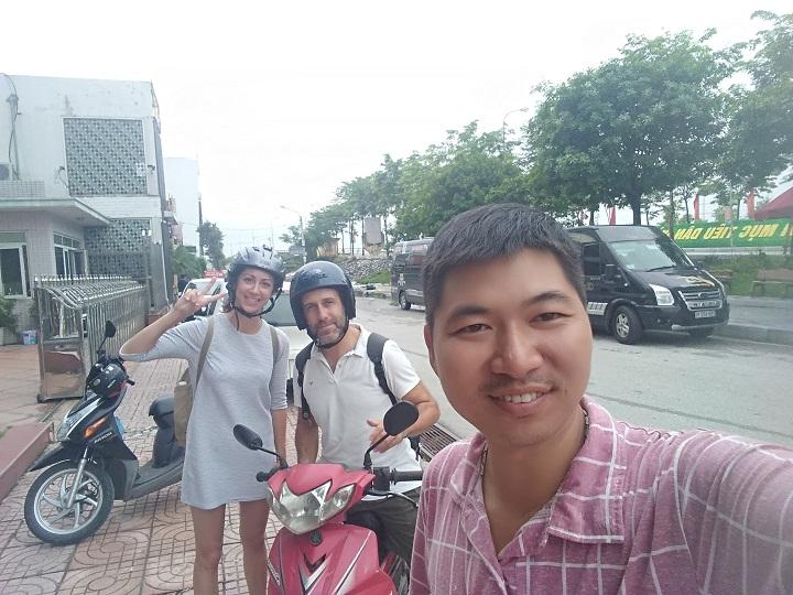 motorbike rental service in Ninh Binh