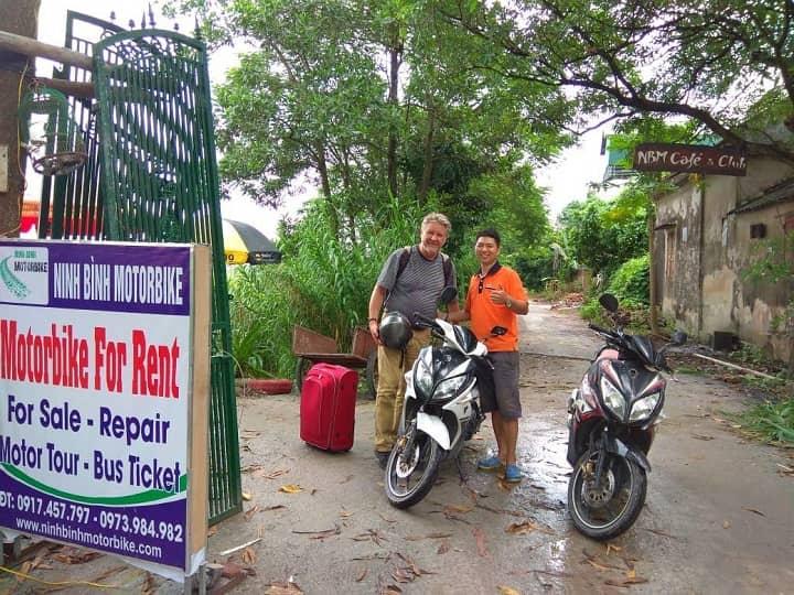 motorbike rental booking