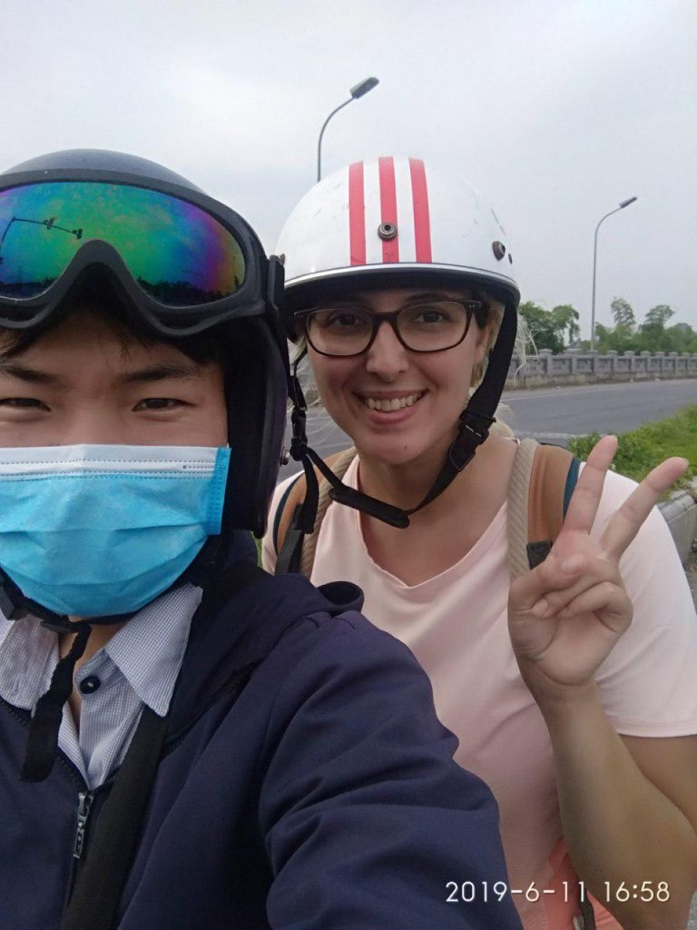 motorbike taxi ninh binh